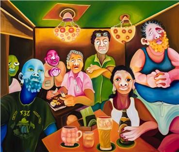 , Reihaneh Hosseini, Irish Pub, 2020, 34770