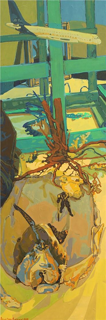 Painting, Sourena Zamani, Vanishing, 2014, 3568
