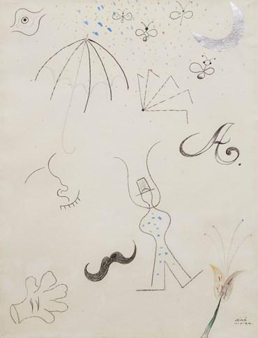 , Joan Miro, Untitled - The Wind, 1925, 50639