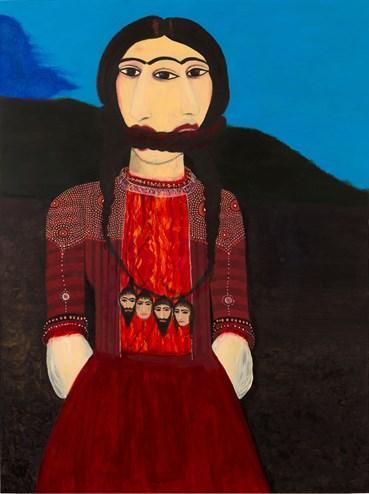 Samira Abbassy, Bound By Her Fate, 2014, 0