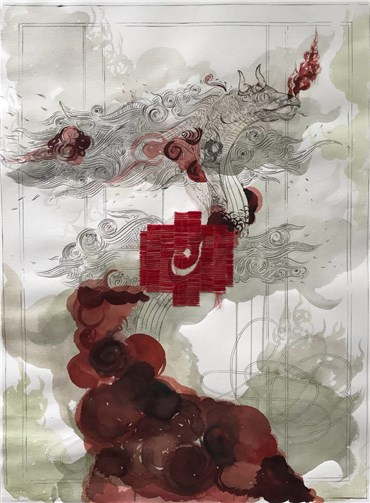 , Shilla Shakoori, Untitled, 2019, 28259
