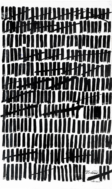 , Charles Hossein Zenderoudi, Untitled, 2006, 16361