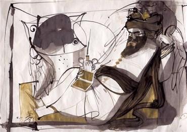 Painting, Ahmad Amin Nazar, Untitled, , 22684