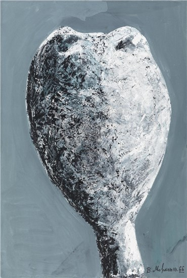 Painting, Bahman Mohassess, Head lV, 1966, 23247