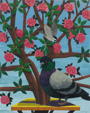 , Kerry James Marshall, Black and Part Black Birds in America, 2021, 50627