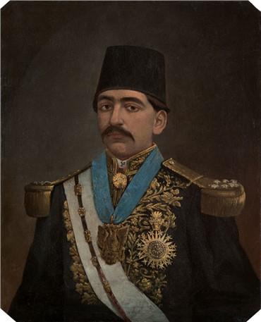 , Mohammad Ghaffari, Untitled, 1913, 8636