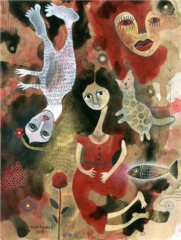 , Mansoureh Hosseini, Untitled, 2013, 10246