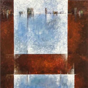 Painting, Yaghoub Emdadian, The Window, 2008, 20103