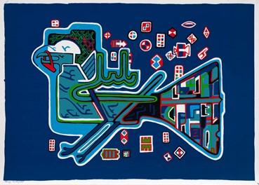 , Parviz Tanavoli, Nightingale With Lock, 1974, 42072