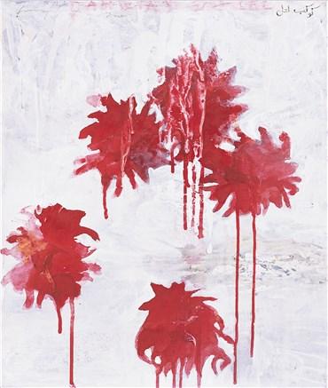 Painting, Fereydoun Ave, Lal Dahlias, 2007, 35092