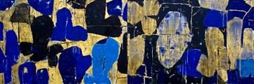 , Reza Derakshani, Every Blue Night and Every Golden Day, 2021, 50865
