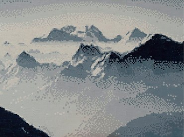 , Golnar Dashti, Tochal 19200 Pixels, 2021, 47093