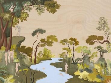 , Sanam Khatibi, Figures in a Garden, 2021, 49414