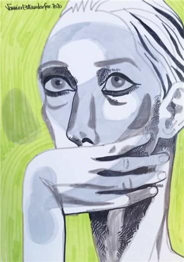 , Samira Eskandarfar, Untitled, 2020, 35757
