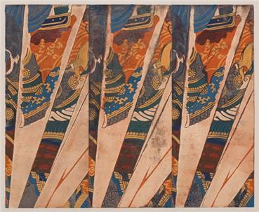 , Kour Pour, Triple Samurai (Kuniyoshi), 2018, 19231