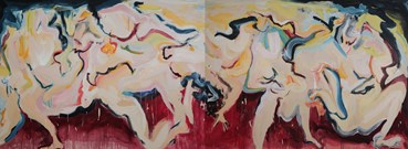 Painting, Zahra Shahcheraghi, Untitled, 2020, 40300