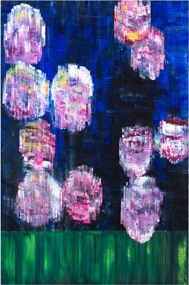, Sassan Behnam Bakhtiar, Blue Immortal Rose Garden , 2019, 28156