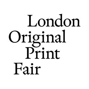 London Original Print Fair (LOPF) logo