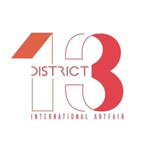 District 13 Art Fair logo