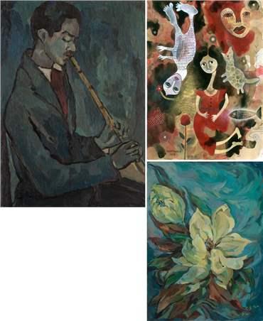 منصوره حسینی: درباره، آثار هنری و نمایشگاه ها