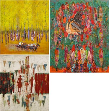 Ane Mohammad Tatari: About, Artworks and shows