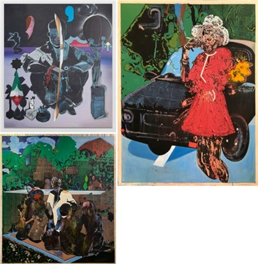 Taha Heydari: About, Artworks and shows