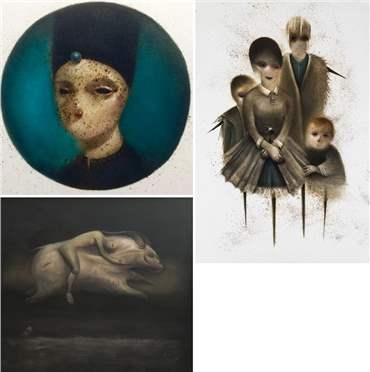 Vahid Chamani: About, Artworks and shows