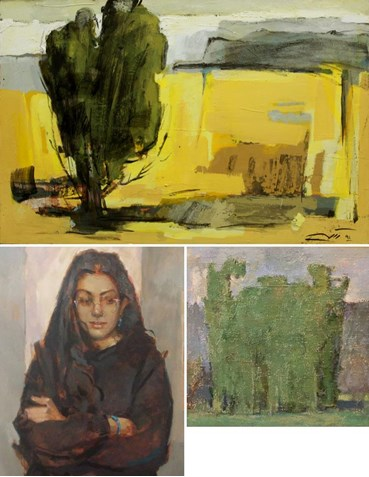 Ahmad Vakili: About, Artworks and shows