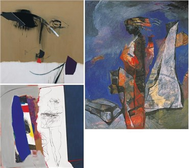 Nosratollah Moslemian: About, Artworks and shows