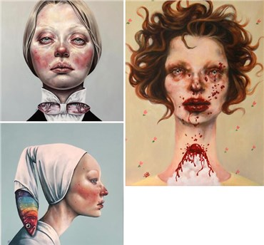 Afarin Sajedi: About, Artworks and shows