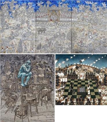 Aliakbar Sadeghi: About, Artworks and shows