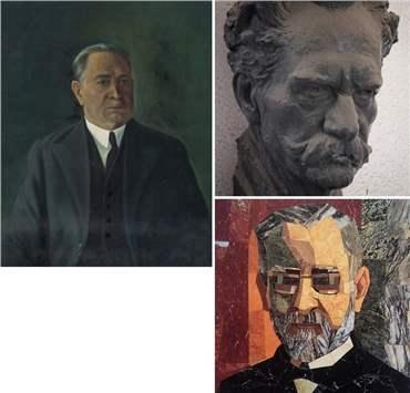 علی اکبر صنعتی: درباره، آثار هنری و نمایشگاه ها