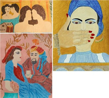 Reza Shafahi: About, Artworks and shows