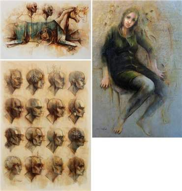 Morteza Yazdani Dinani: About, Artworks and shows