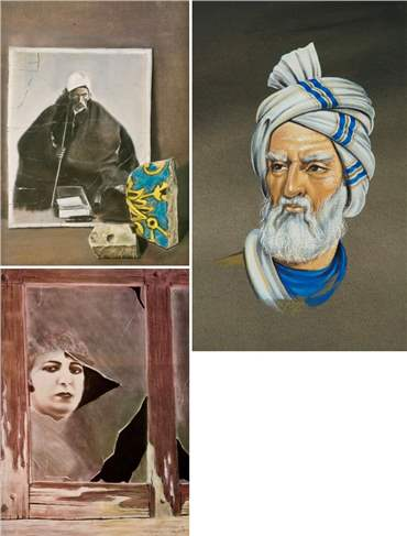 Iraj Shafei: About, Artworks and shows