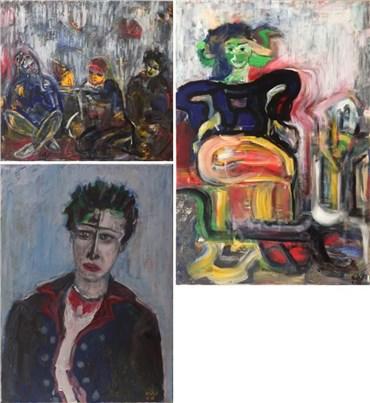 Akbar Yadegari: About, Artworks and shows