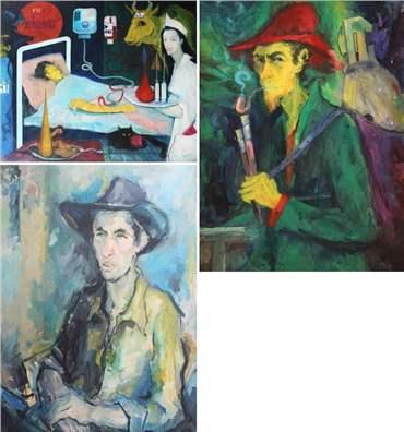 Ebrahim Faraji: About, Artworks and shows