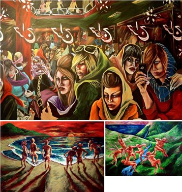 Saghar Daeiri: About, Artworks and shows