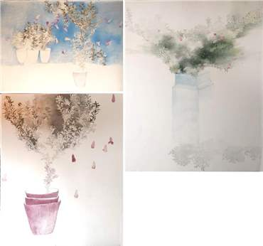Behnaz Ghasemi: About, Artworks and shows