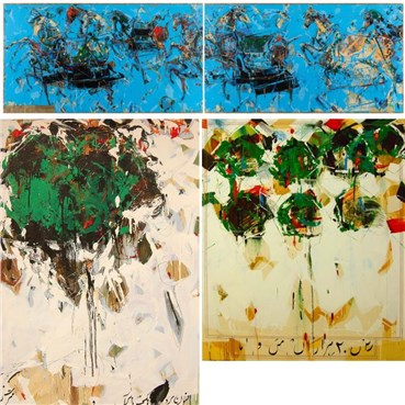 Shahriar Ahmadi: About, Artworks and shows