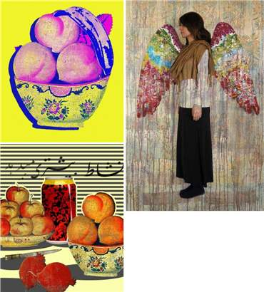 Hojat Amani: About, Artworks and shows