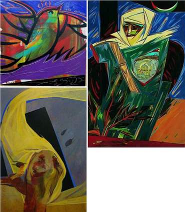 Morteza Asadi: About, Artworks and shows