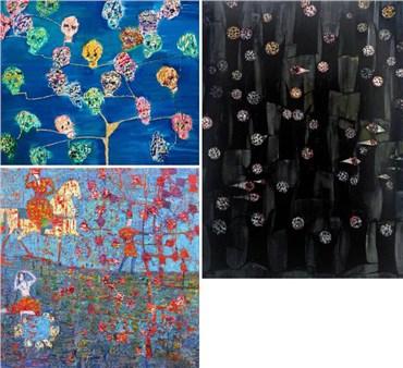 Reza Derakshani: About, Artworks and shows