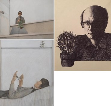 Alireza Espahbod: About, Artworks and shows
