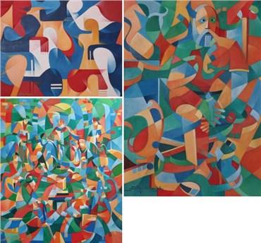 Seyed Asadollah Shariatpanahi: About, Artworks and shows