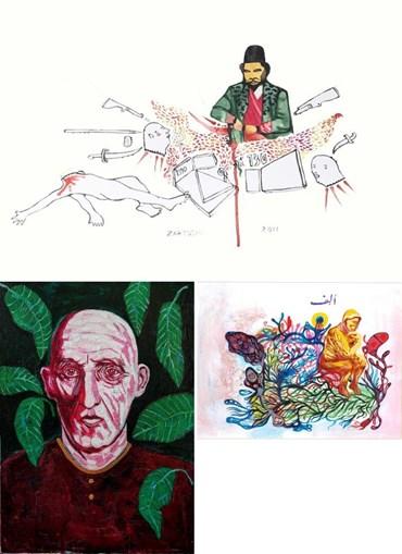 Zartosht Rahimi: About, Artworks and shows