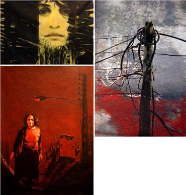 Hamideh Sadeghieh: About, Artworks and shows