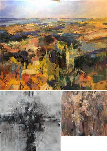 Abdolhamid Pazoki: About, Artworks and shows