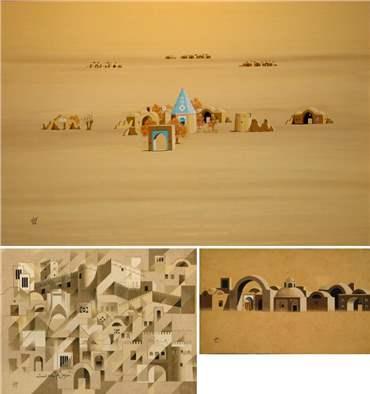 Parviz Kalantari: About, Artworks and shows