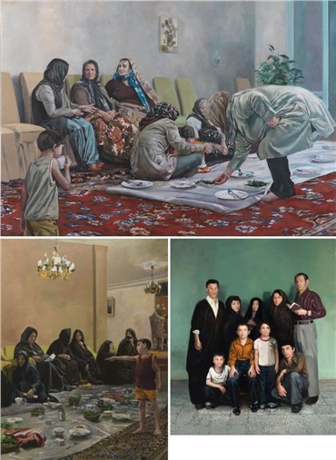 Amin Nourani: About, Artworks and shows
